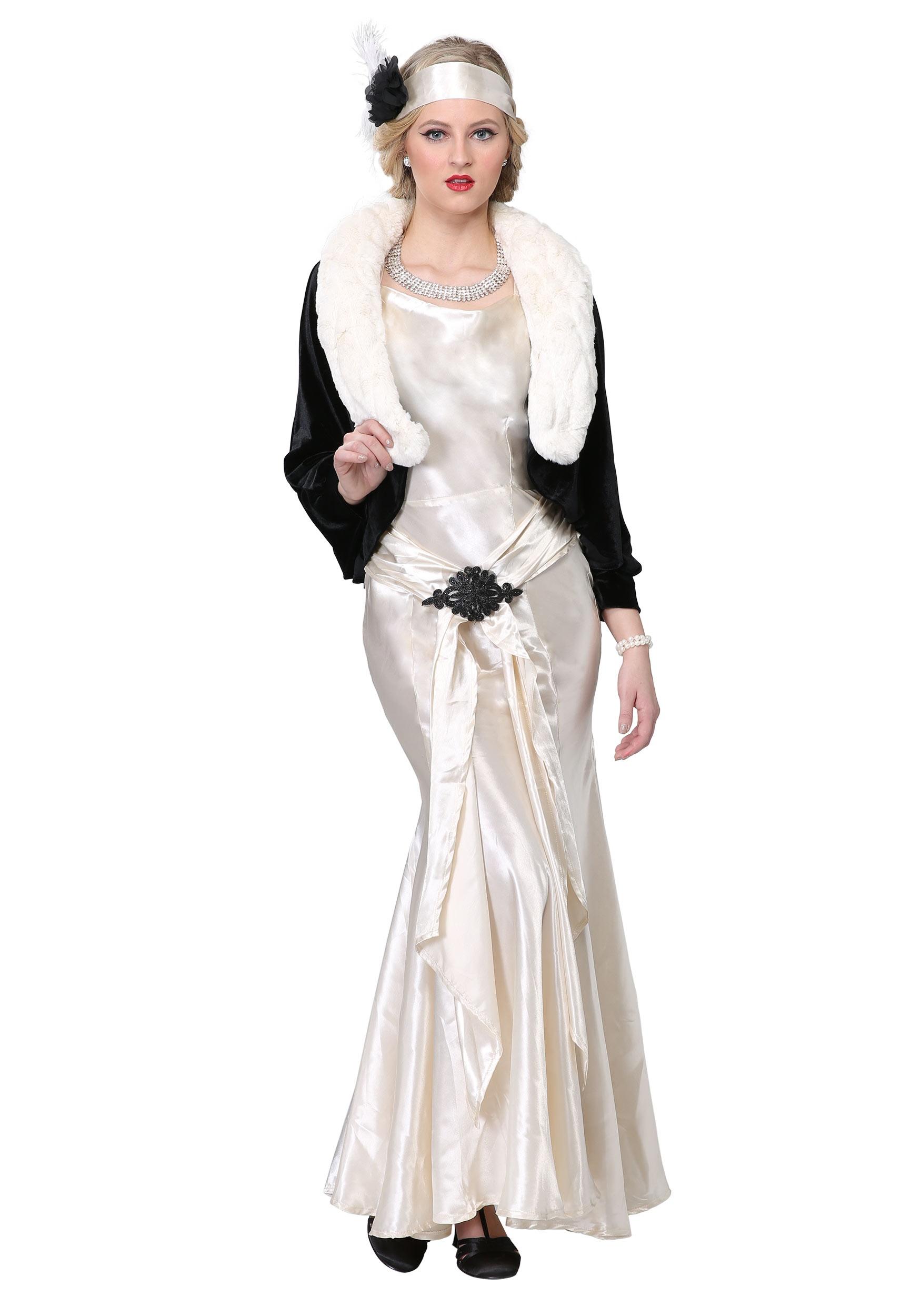 1920s Socialite Plus Size Costume For Women