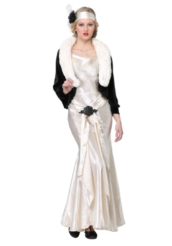 1920s Socialite Plus Size Womens Costume