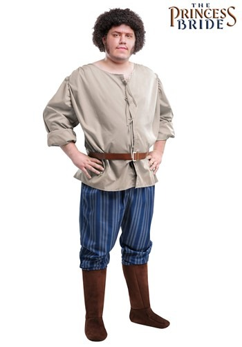 Click Here to buy Plus Size Fezzik Costume from The Princess Bride 2X 3X 4X XXL XXXL XXXXL from HalloweenCostumes, CDN Funds