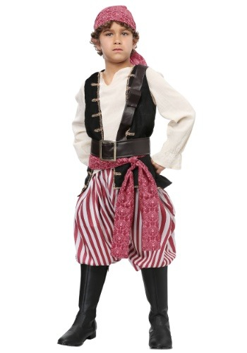 Click Here to buy Battlin Buccaneer Boys Costume from HalloweenCostumes, USA Funds & Shipping