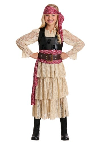 Sweet Swashbuckler Costume for Girls
