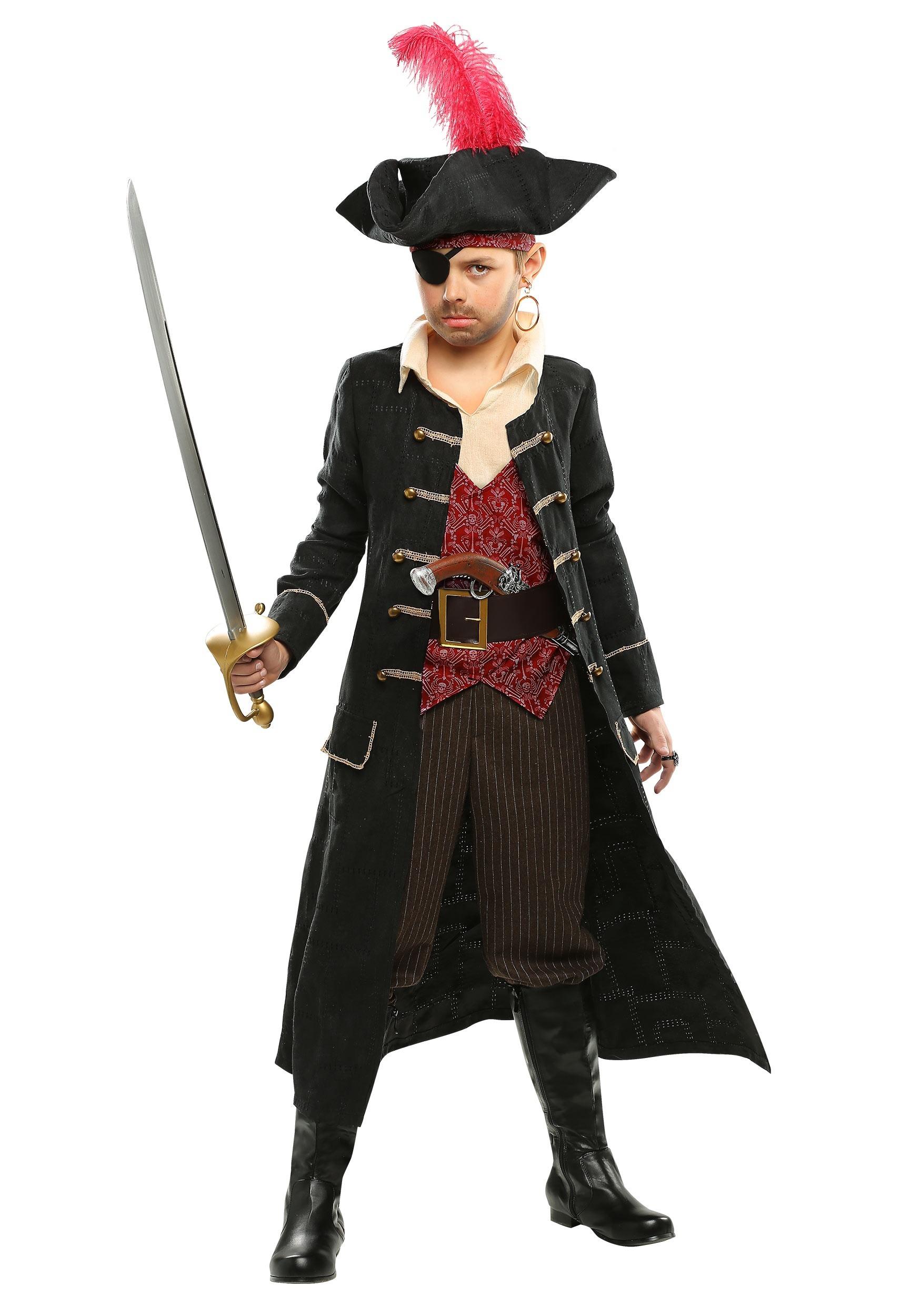 Child Pirate Costumes - Kids Boys, Girls Pirate Halloween Costume