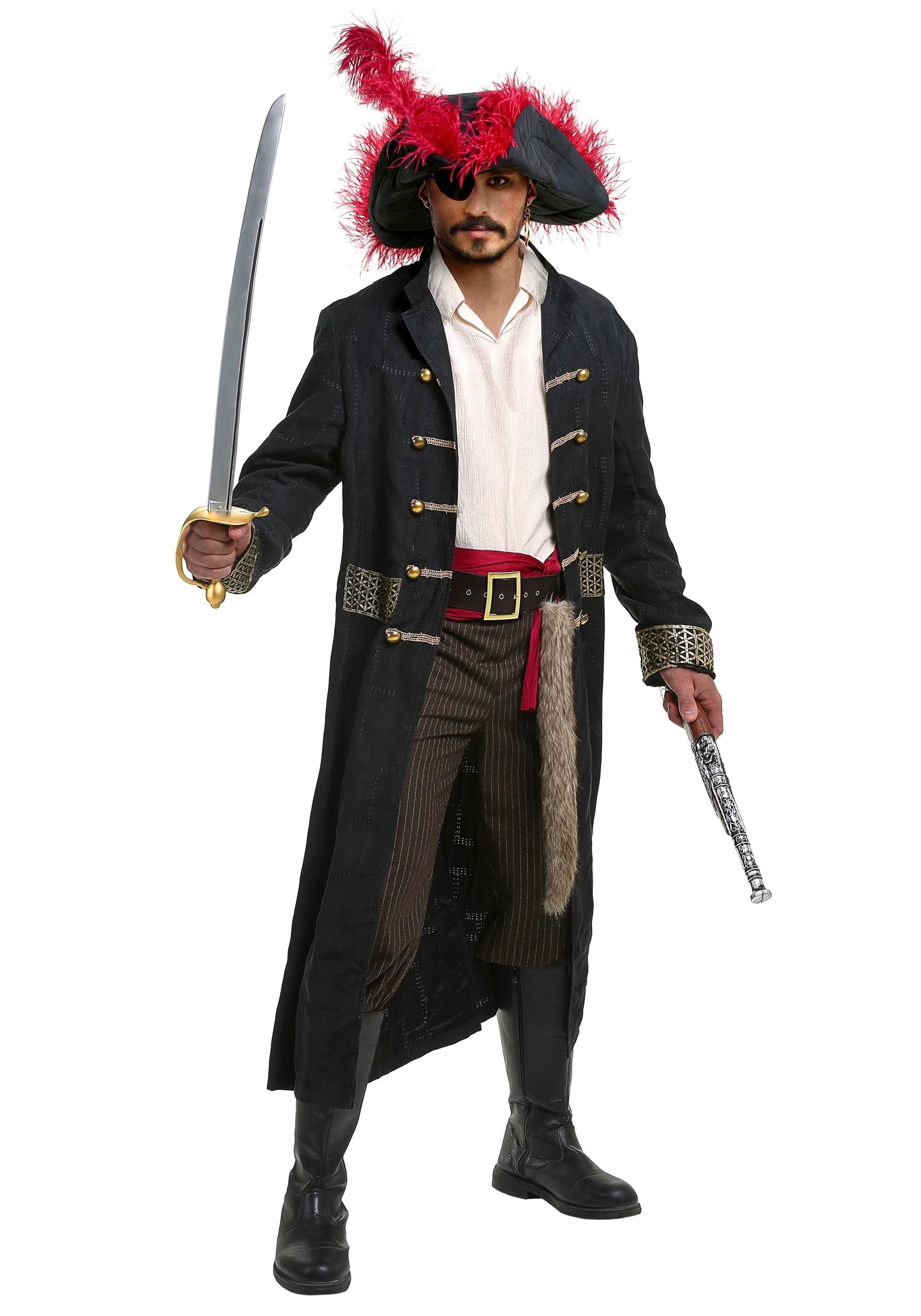 shipwreck captain mens costume