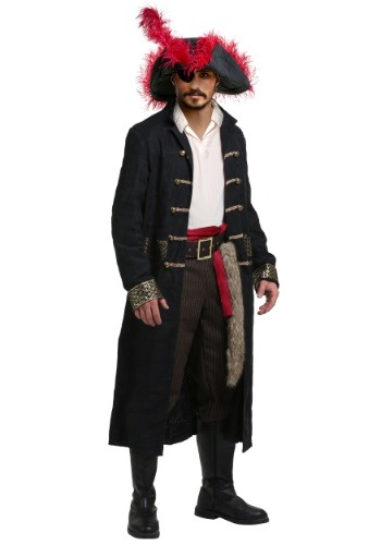 Shipwreck Captain Plus Size Costume for Men