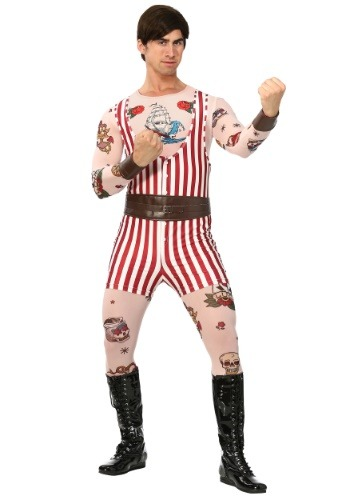 Mens Vintage Strongman Costume