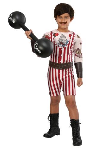Vintage Strongman Boys Costume