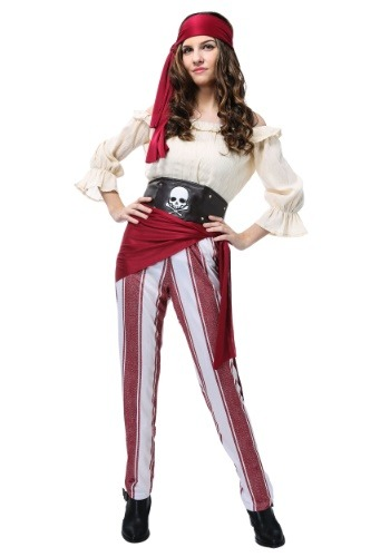Click Here to buy Deckhand Darling Plus Size Womens Costume 1X 2X from HalloweenCostumes, CDN Funds