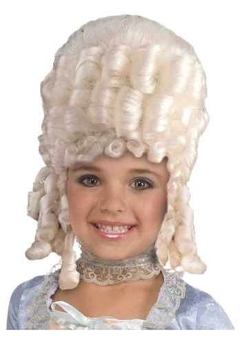 Child Marie Antoinette Wig By: Forum Novelties, Inc for the 2015 Costume season.