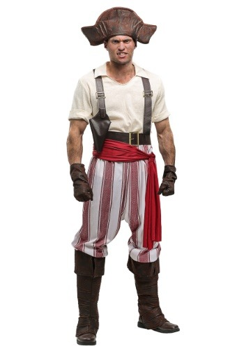 Click Here to buy Seven Seas Pirate Plus Size Mens Costume from HalloweenCostumes, USA Funds & Shipping