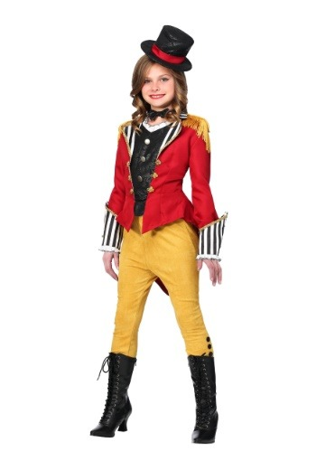 Click Here to buy Ravishing Ringmaster Girls Costume from HalloweenCostumes, CDN Funds