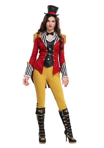 Click Here to buy Ravishing Ringmaster Womens Costume from HalloweenCostumes, CDN Funds