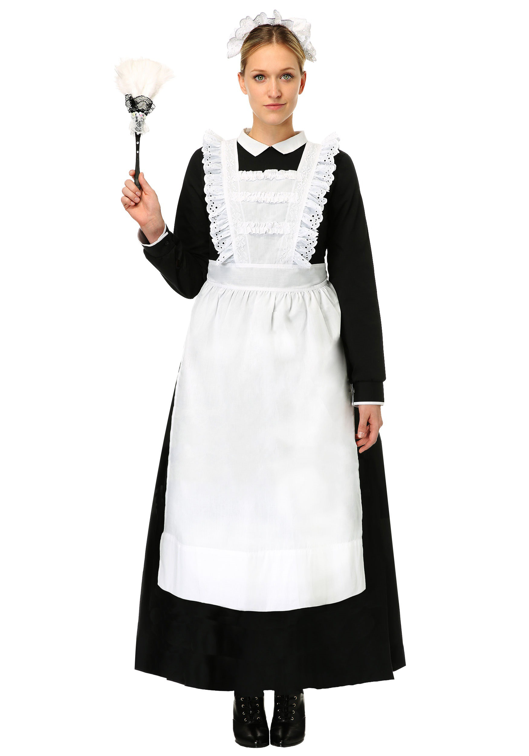 French Cuff Women Porn - Womens Traditional Maid Costume