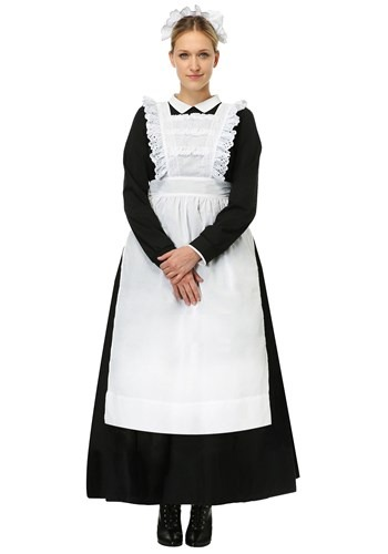 Traditional Maid Plus Size Costume for Women
