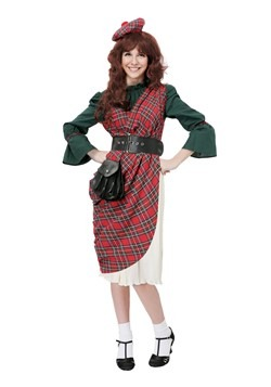 Womens Scottish Lassie Costume cc