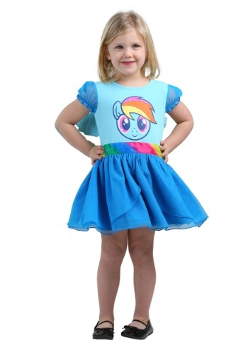 Image of My Little Pony Rainbow Dash Costume Dress