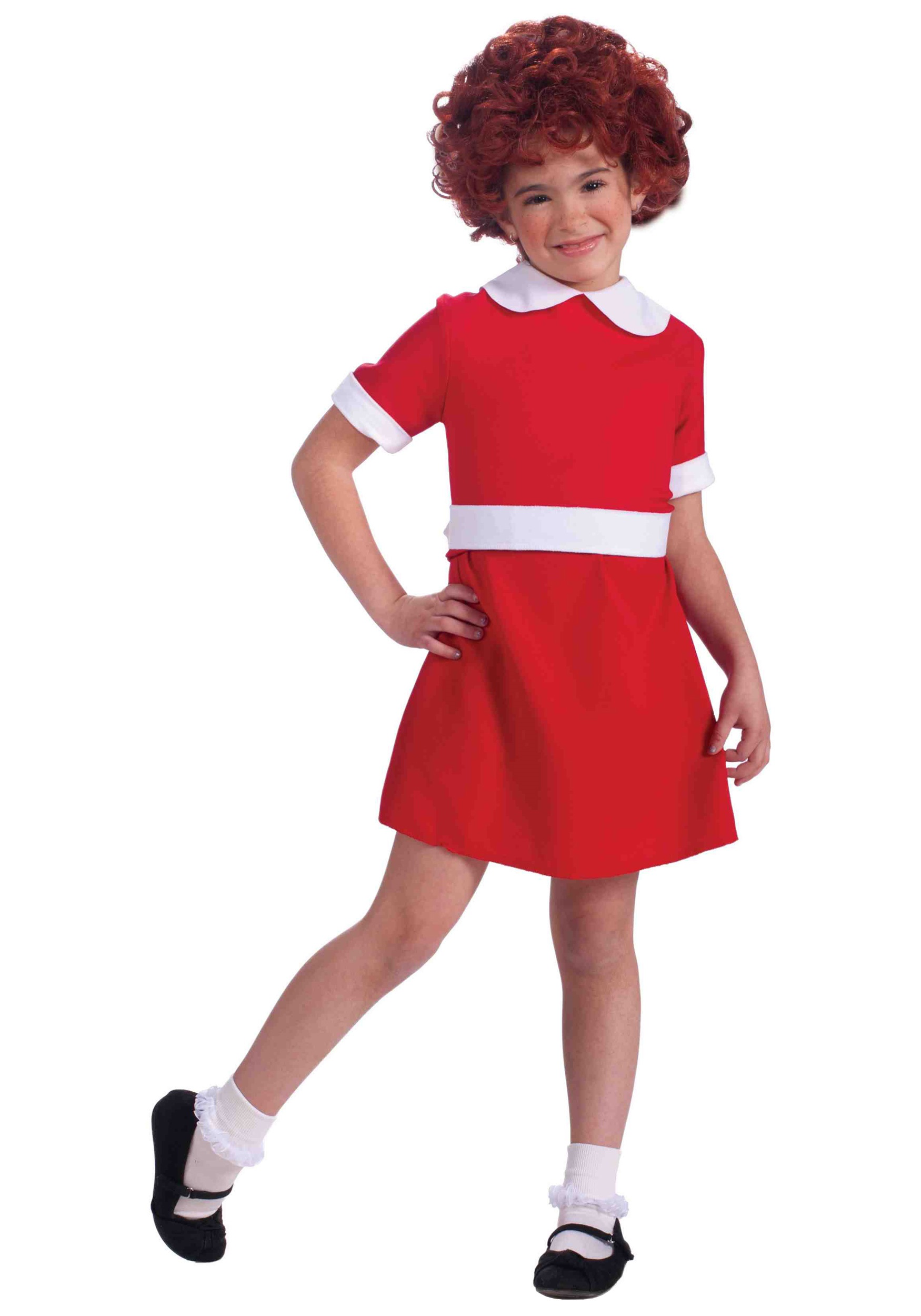 sc 1 st  Halloween Costumes & Child Annie Costume