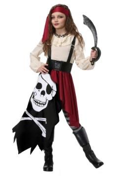 Pirate Flag Fortune Teller Costume for Girls