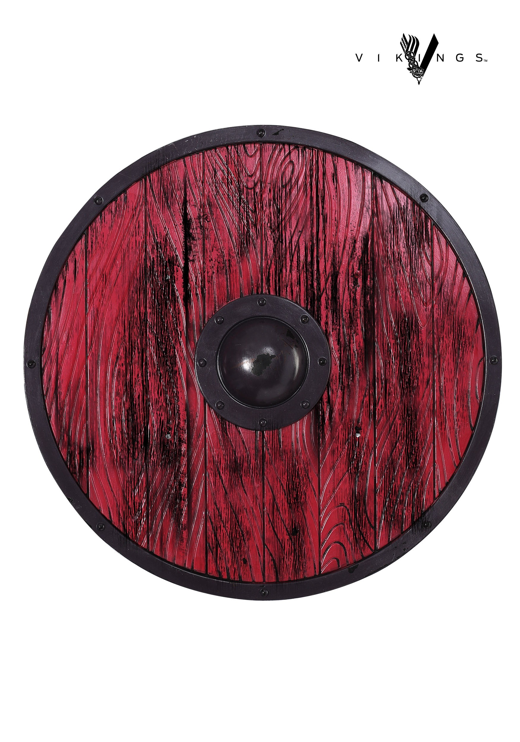 83379482 Ragnar Lothbrok Red Shield from Vikings