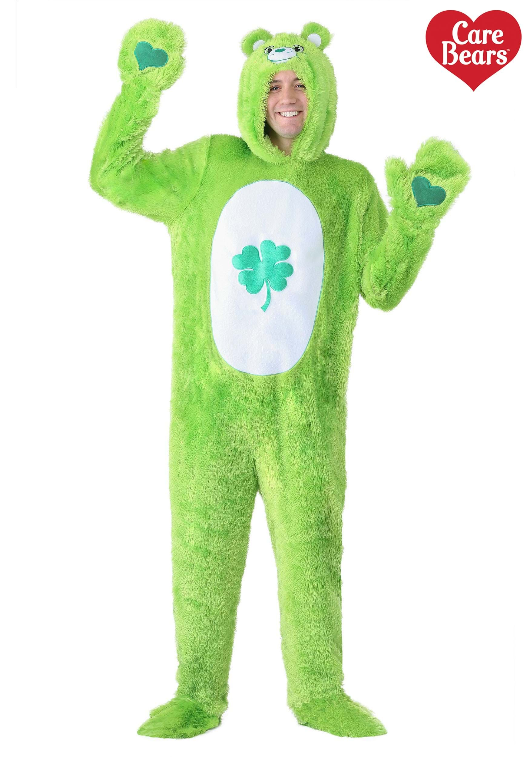 Care Bears Adult Classic Good Luck Bear Costume  sc 1 st  Halloween Costumes & Bear Costumes for Adults u0026 Kids - HalloweenCostumes.com