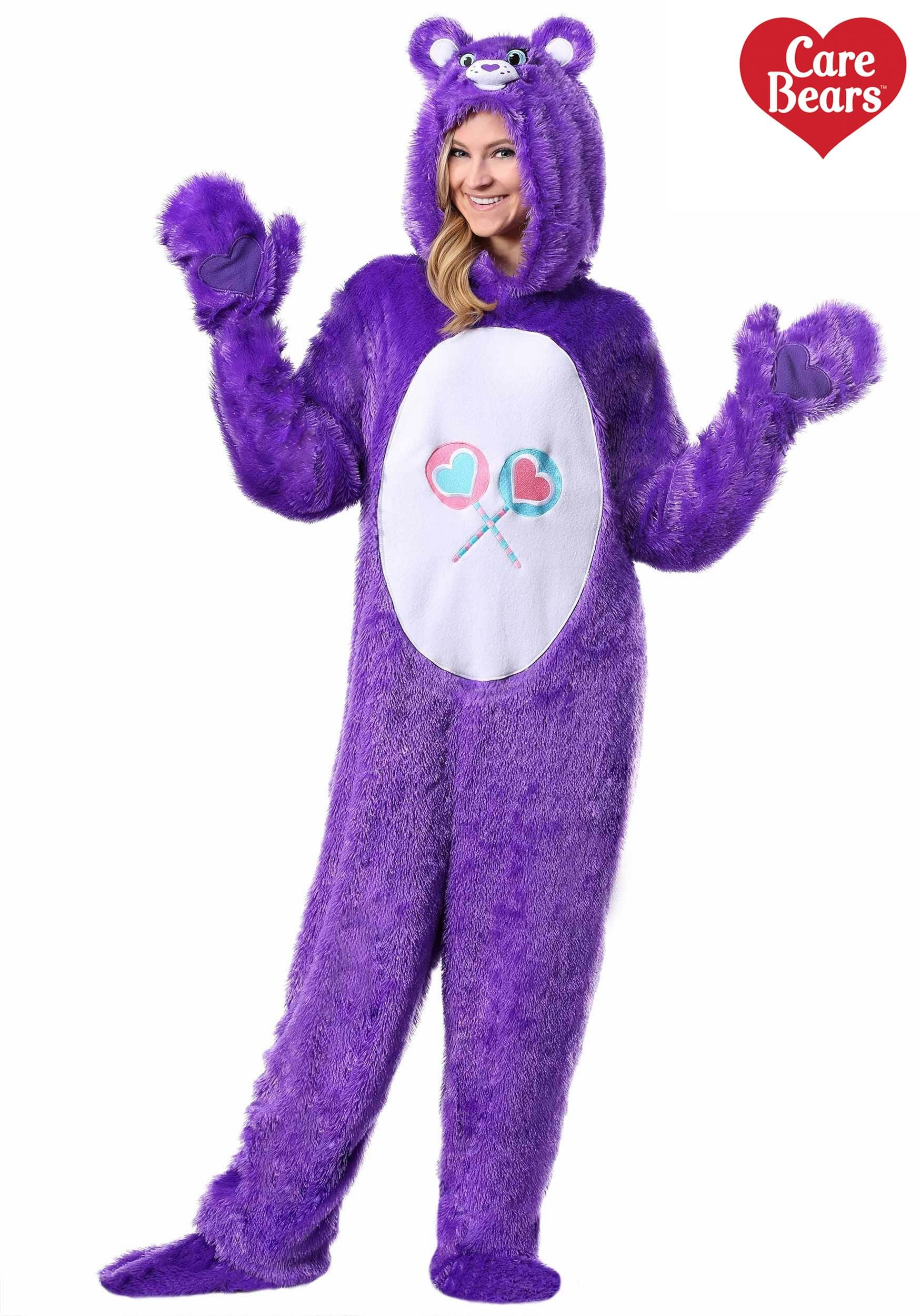 sc 1 st  Halloween Costumes & Care Bears Adult Classic Share Bear Costume