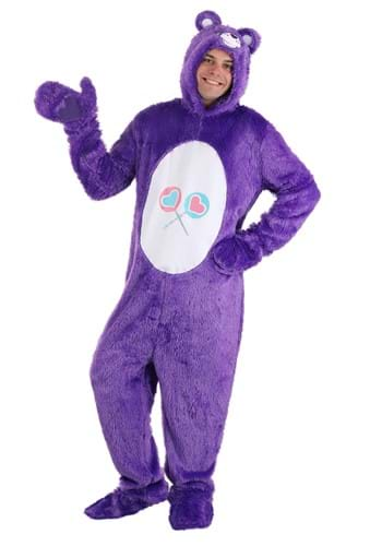 Click Here to buy Care Bears Adult Classic Share Bear Costume from HalloweenCostumes, CDN Funds