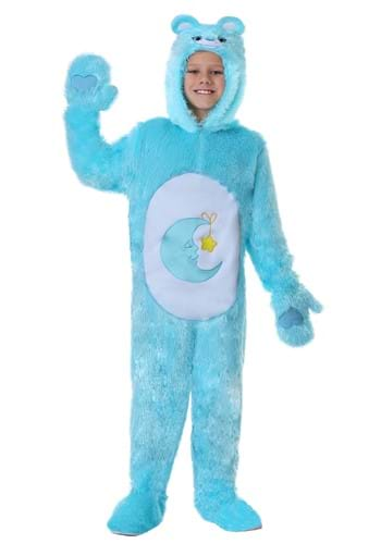 Click Here to buy Care Bears Kids Classic Bed Time Bear Costume from HalloweenCostumes, CDN Funds