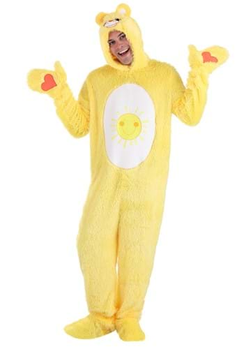 Click Here to buy Care Bears Adult Classic Funshine Bear Costume from HalloweenCostumes, CDN Funds