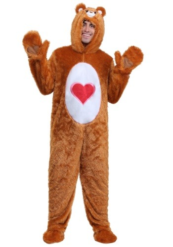 Click Here to buy Care Bears Adult Classic Tenderheart Bear Costume from HalloweenCostumes, CDN Funds