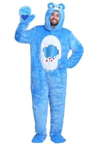 Click Here to buy Care Bears Classic Grumpy Bear Costume for Adults from HalloweenCostumes, USA Funds & Shipping