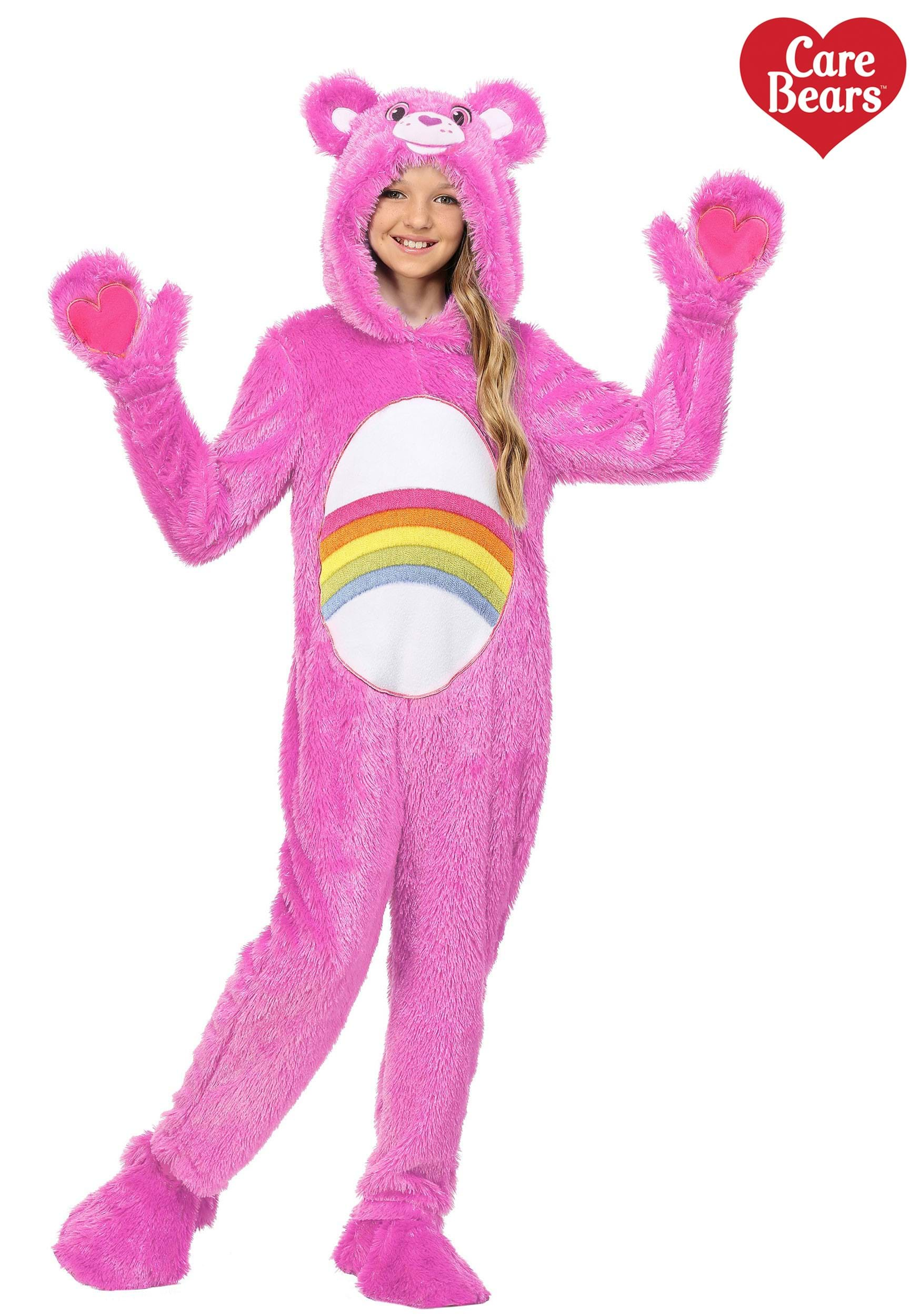 Care Bears Child Classic Cheer Bear Costume  sc 1 st  Halloween Costumes & Care Bears Costumes for Adults u0026 Kids - HalloweenCostumes.com