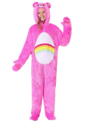 Click Here to buy Care Bears Kids Classic Cheer Bear Costume from HalloweenCostumes, CDN Funds