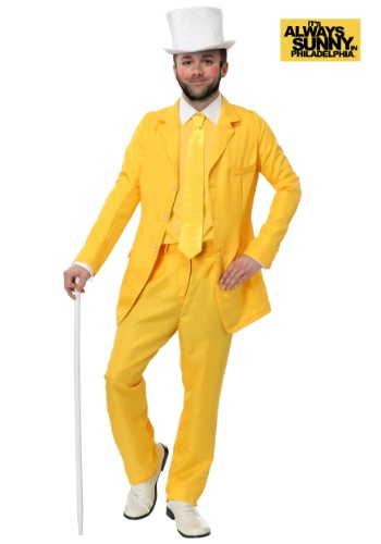 Always Sunny Dayman Yellow Suit Costume
