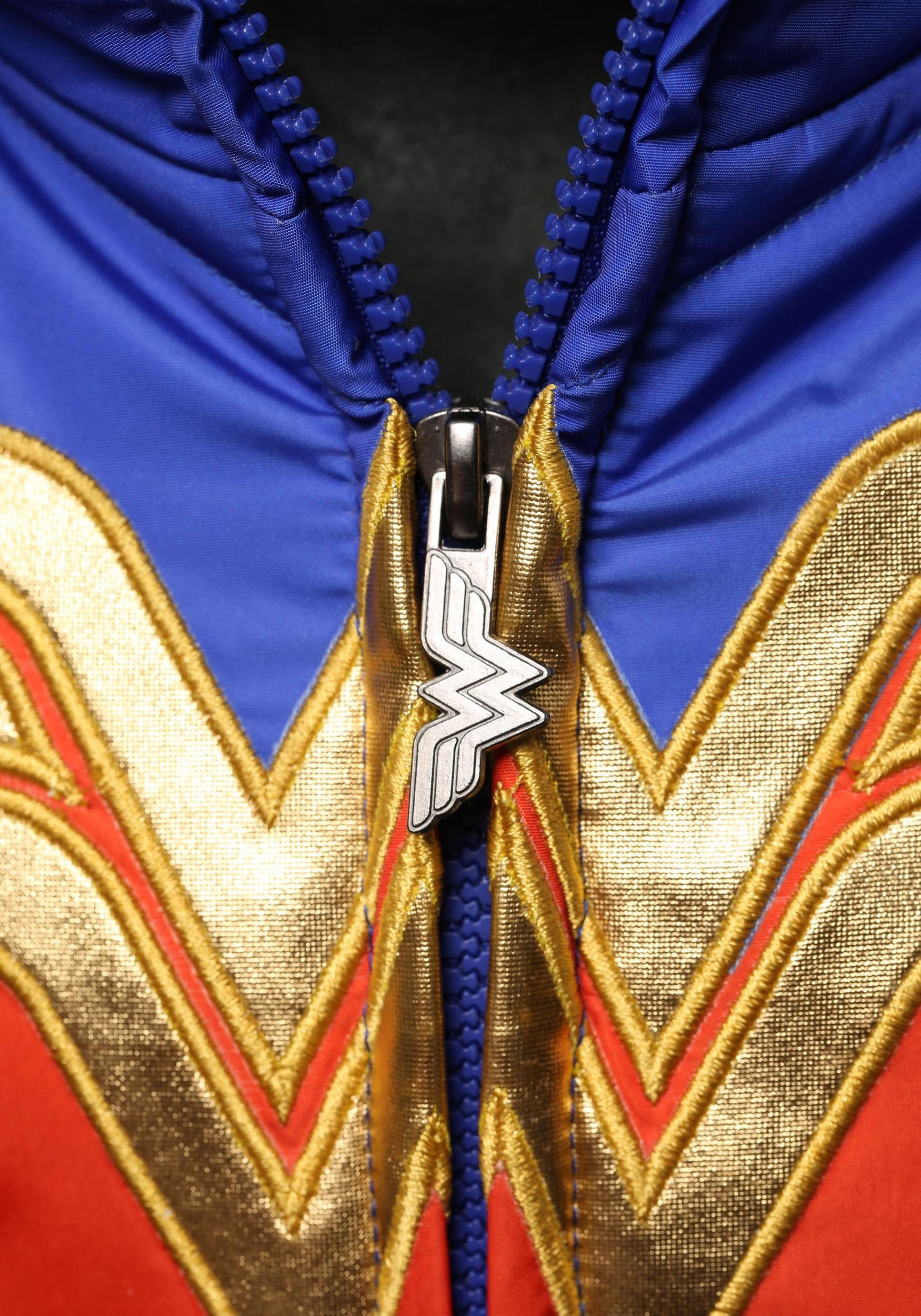 0543239a7 ... DC Comics Wonder Woman Girls Puffer Coat