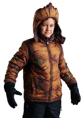 Click Here to buy Marvel Groot Puffer Coat for Boys from HalloweenCostumes, USA Funds & Shipping
