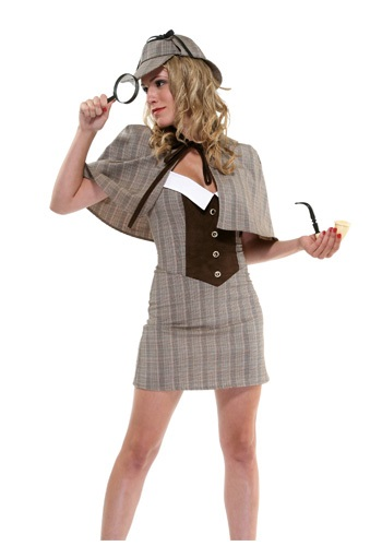 Click Here to buy Sexy Detective Costume from HalloweenCostumes, USA Funds & Shipping