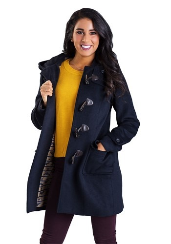 Click Here to buy DC Comics Wonder Woman Duffel Coat for Women from HalloweenCostumes, CDN Funds