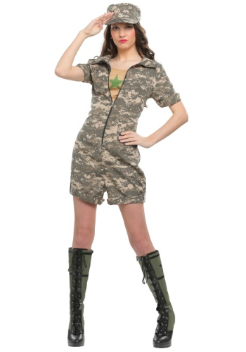 Click Here to buy Womens Military Officer Costume from HalloweenCostumes, CDN Funds