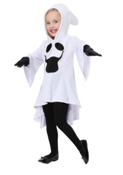 Girls Gorgeous Ghost Toddler Costume