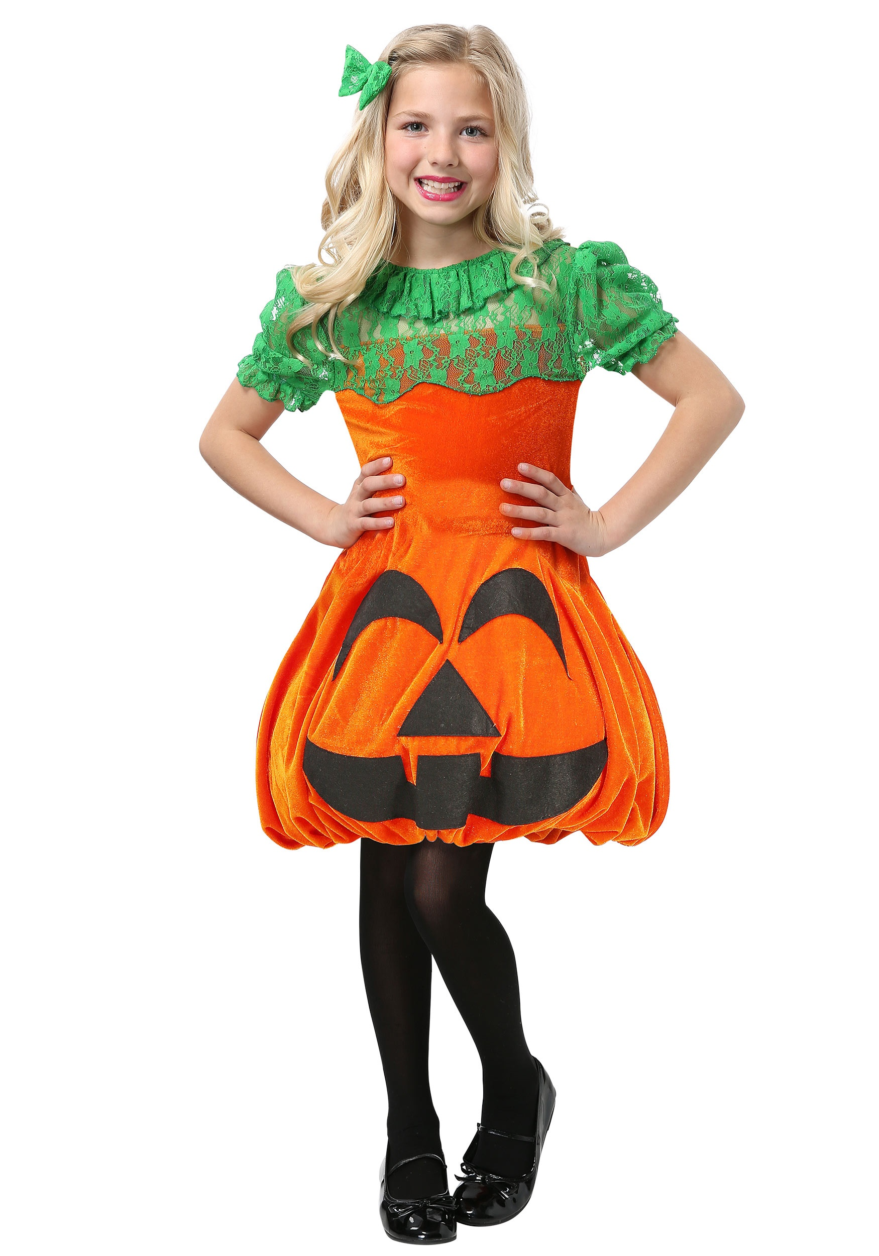 Pretty Pumpkin Girls Costume  sc 1 st  Halloween Costumes & Food Costumes - Adult Kids Food and Drink Halloween Costume Ideas