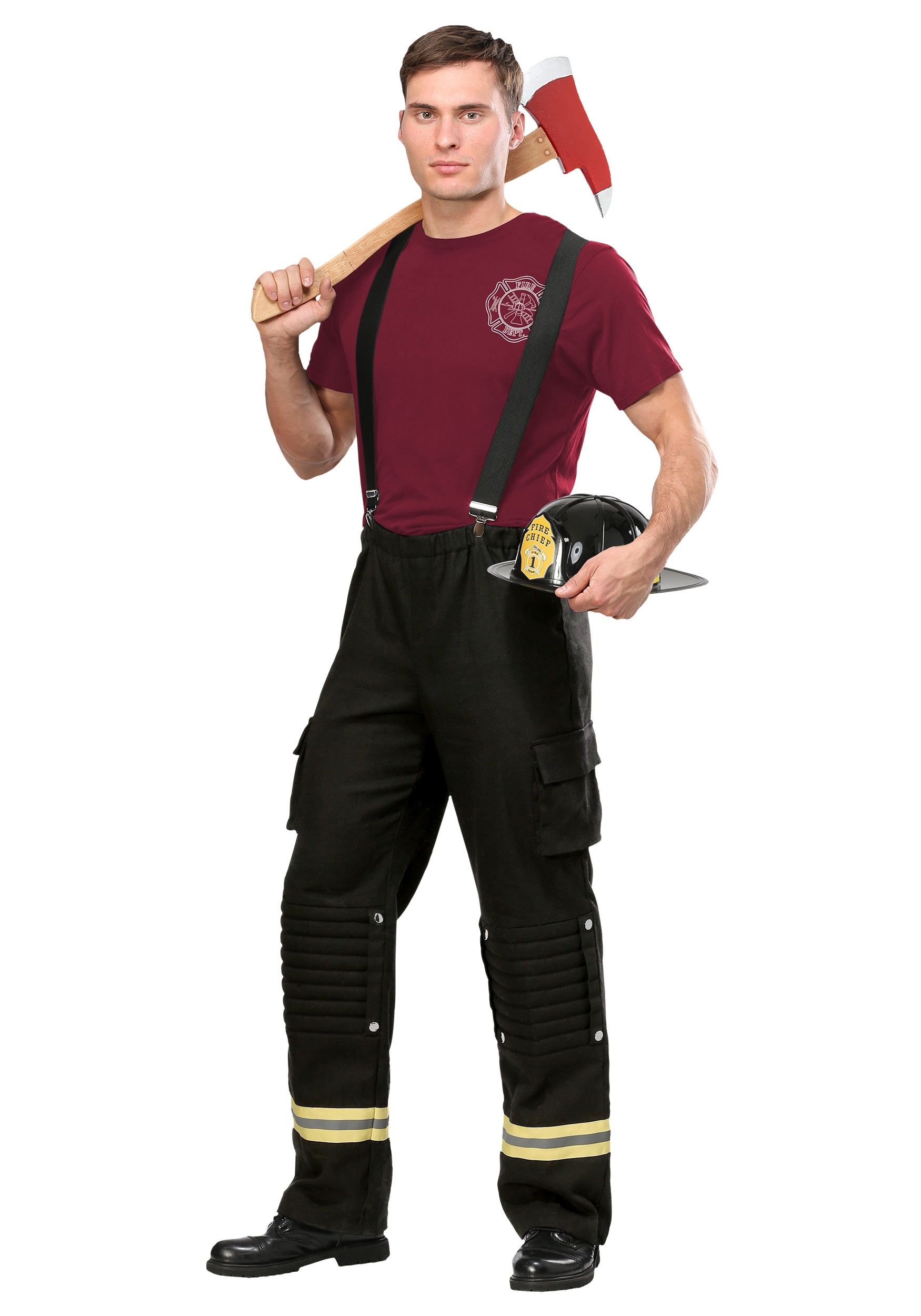Fire Captain Costume For Men