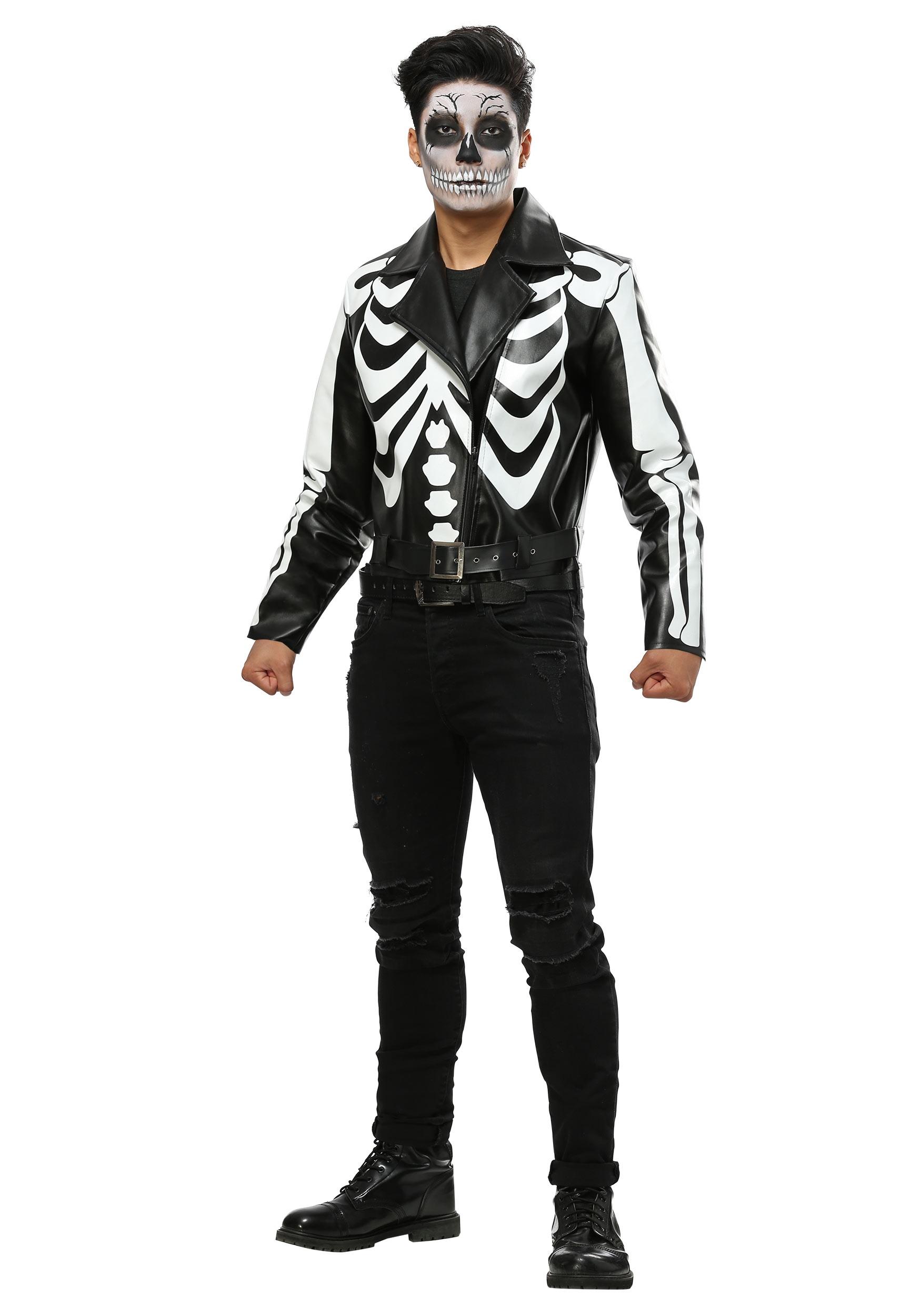 Moto Skeleton Men's Costume FUN6859AD