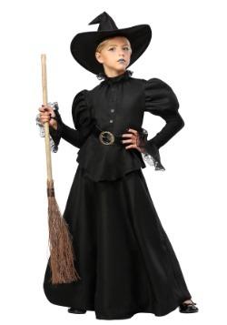 Classic Black Witch Girls Costume