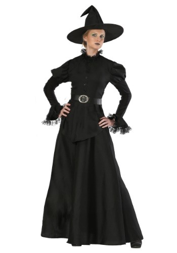Click Here to buy Classic Black Witch Womens Costume from HalloweenCostumes, CDN Funds