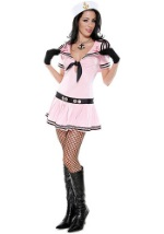 Sexy Pink Sailor Costume