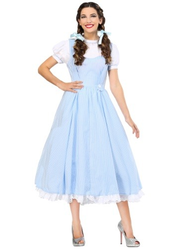 Click Here to buy Deluxe Kansas Girl Plus Size Costume from HalloweenCostumes, USA Funds & Shipping
