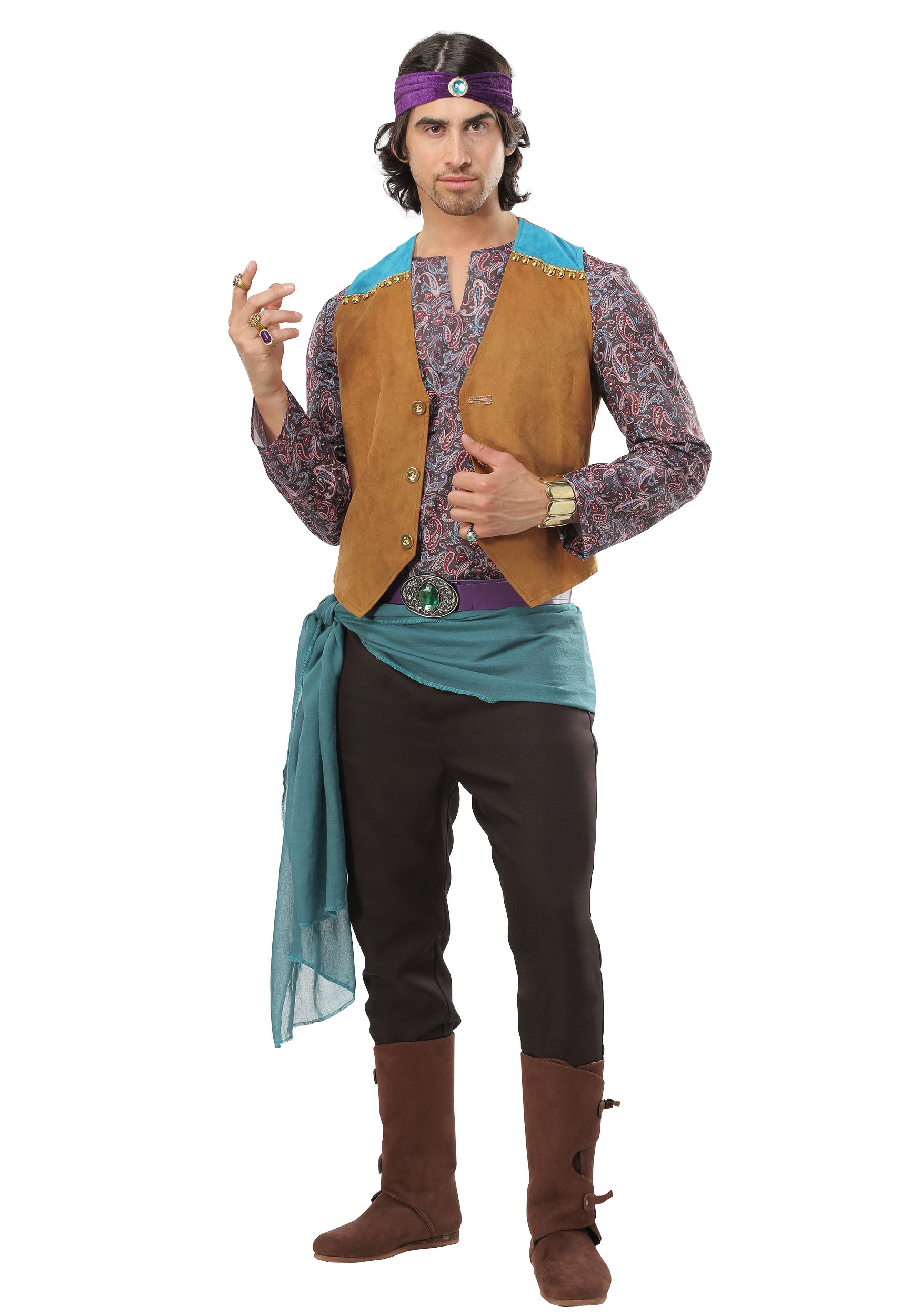 6682fa5b12 Men's Fortune Teller Gypsy Costume