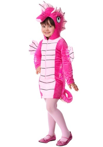 Click Here to buy Seahorse Costume for Toddler Girls from HalloweenCostumes, USA Funds & Shipping