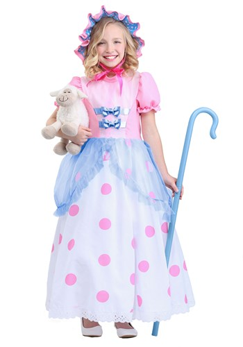Girls Little Bo Peep Costume update