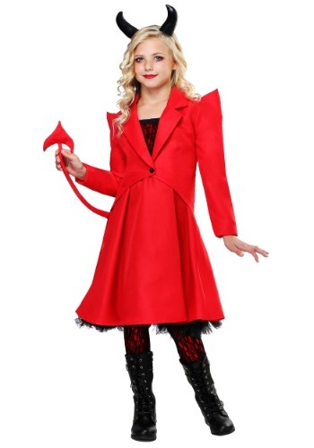 Devilish Diva Costume for Girls