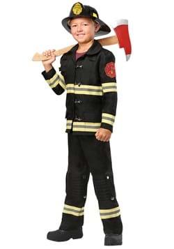 Kids Black Uniform Firefighter Costume1-update
